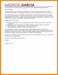Receptionist Cover Letter For Resume 100 receptionist cover letter sample format of notice 71