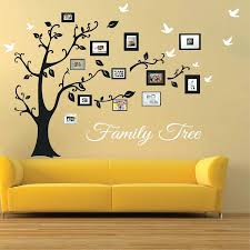 family tree picture wall picture frame family tree wall art family tree picture frame wall decal  on family tree wall art stickers uk with family tree picture wall large family tree wall decal photo tree