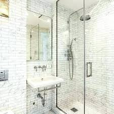 no grout tile how to grout tile wall white and gray bathroom with linear marble tiles no grout tile