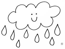 Kleurplaat Wolk Wind Kleurplaten Met Thema Regen Kleurplaten