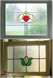 diy faux stained glass stained glass stained glass porch windows faux stained glass window diy
