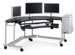 ergonomic office design. Alluring Ergonomic Computer Desk Lovely On Wheels Minimalist Design Stuff Office W