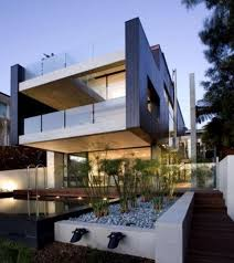 Architectures  Exterior Modern House Design Within Built - How to unique house interior design