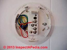 how wire a trane, ge, or american standard thermostat, ameican 4 wire thermostat at Ge Thermostat Wiring Diagram