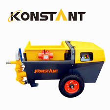 concrete wall putty mortar plastering machine for lightweight insulating materials