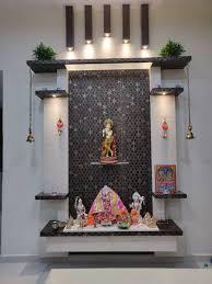 Pooja Room Steps Design Mandir Dining Room By Design Kreations Pooja Room Door