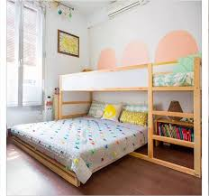 After a day of walking Madrid, my boys would love this room and bed! The  Calle San Lorenzo Residence - Kid & Coe (Diy Furniture For Kids)