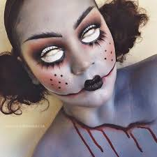 makeup last photo from today 39 s dead doll collab thank you so much for all