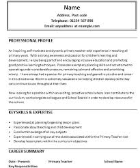objective for teaching resume teacher objective for resume best resume collection