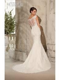 ivory lace fishtail wedding dress uk