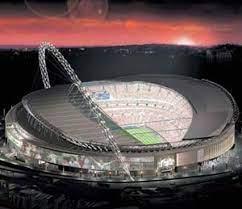 Wembley-Stadion: Triumphbogen aus Baumängeln, Terminnot und hohen Kosten -  Fußball - FAZ