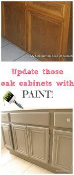 Update Oak Cabinets How To Paint Oak Cabinets