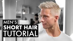 textured short haircut for men easy