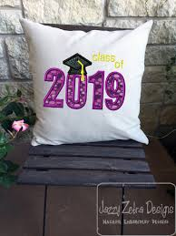 Class Of 2019 Embroidery Design