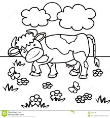 Small Picture Cow coloring Book Royalty Free Stock Images Image 37891739