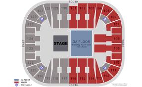 Eaglebank Arena Fairfax Tickets Schedule Seating Chart