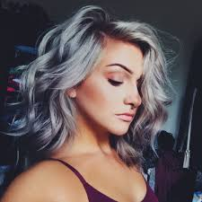 Long Silver Hair Styles 1000 Ideas About Gray Hair On Pinterest