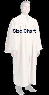 Choir Robe Size Chart Size Charts