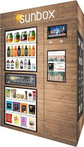 Healthy Vending Machines Houston New The Modern Vending Machine For A Healthy Living Generation Sunbox