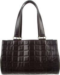 Chanel Chic Quilt Bowling Bag Black in Metallic | Lyst & Chanel | Square Quilt Barrel Bag Black | Lyst Adamdwight.com