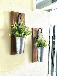 outdoor wall planter metal wall planters metal wall planters 3 pocket galvanized or rustic metal indoor outdoor wall planter