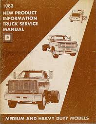 search 1979 gmc 7000 wiring diagram 1983 chevy gmc medium heavy truck original service information manual 1978 Gmc 7000 Wiring Diagram