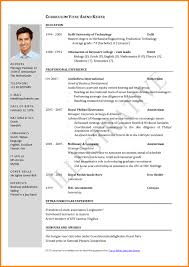 Updated Resume Simple Updated Resume Format Lcysne
