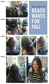 easy beachy waves tutorials for hair beach waves for fall diy and easy step