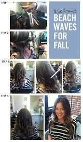 easy beachy waves tutorials for hair beach waves for fall diy and easy step
