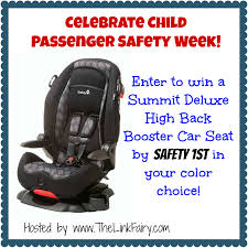 safety 1st summit deluxe high back booster car seat giveaway our piece of earth