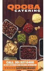 Qdoba Customer Service Caterdmv A Brand New Experience In Catering Qdoba Menucaterdmv