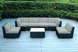 curved outdoor sofa set large size of patio conversation sets with swivel garden uk curved outdoor sofa