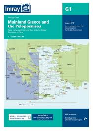 Imray Or Admiralty Charts Imray Chart G1 Mainland Greece And The Peloponnisos Todd