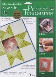 Printed Treasures Printer Fabric Sheets White | Kingsmen Quilting ... & Printed ... Adamdwight.com