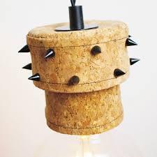 pendant lamp original design metal cork corkstar by rodrigo vairinhos