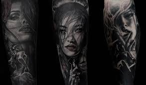 Connessione Latina Tatuaggio Realistico Chicano