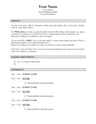 Modern What To Say On Your Resume Sketch Documentation Template
