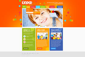 day care templates templatemonster day care psd template