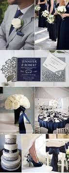 21 navy blue silver theme ideas