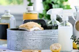 natural homemade daily shower cleaning spray and other homemade green cleaning mixes