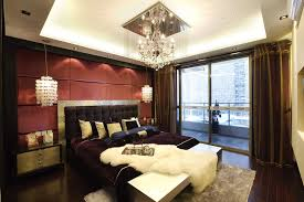 sleek bedroom furniture. sleek bedroom with chandelier and balcony furniture