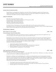 Application Developer Resume The Brilliant Mobile Application Developer Resume Resume Format Web 1