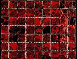 popular black glass tile with next luxury red murano italian mosaic burdy floor subway ceramic clear