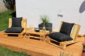 wooden pallet furniture plans. urban style pallet patio furniture wooden plans