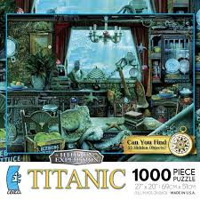 Hidden image jigsaw puzzles are popular among the puzzler community. Hidden Expedition Titanic 1000 Pieces Ceaco Puzzle Warehouse