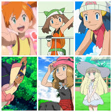 Main Heroines of the Pokemon Anime (OS-SM) by Hewdraw on DeviantArt