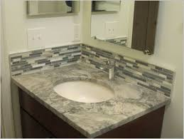 Backsplash Bathroom Ideas Mesmerizing Marvelous Bathroom Vanity Tile Backsplash Ideas Bathroom