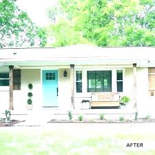 Home Exteriors Before And After Style Custom Design Inspiration