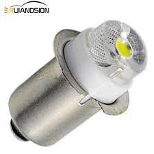 1 adet Maglite LED el feneri ampul iç bisiklet meşale Spot lamba ampulü  P13.5S PR2 0.5W 90 lümen sıcak/beyaz 3V 4.5V 6V 3 18V 5 24V|Car Headlight  Bulbs(LED)