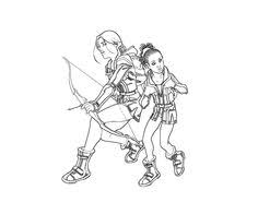 Small Picture Free printable the hunger games coloring page for kids Walk Two